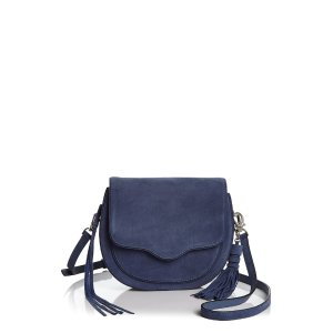 Rebecca Minkoff Suki Large Suede Crossbody | Bloomingdale's