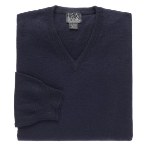 Classic Collection Cashmere V-Neck Sweater CLEARANCE - All Clearance | Jos A Bank