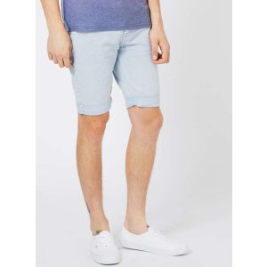 Light Blue Stretch Skinny Chino Shorts - View All Clearance - Clearance - TOPMAN USA