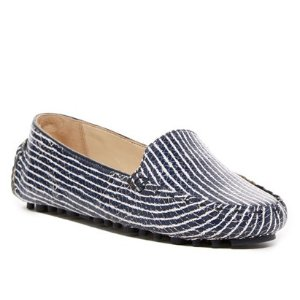 Cole Haan Cary Venetian Snake Embossed Loafer