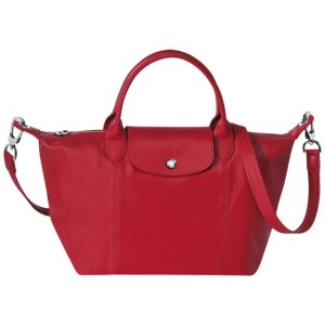 Longchamp Le Pliage Cuir Small Handbag | Sands Point Shop