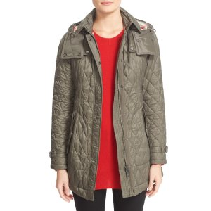 Burberry Finsbridge Belted Quilted Jacket