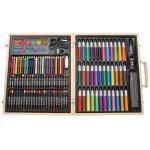 Darice 131件画笔木盒豪华套装