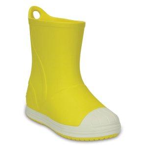 Yellow & Oyster Bump It Rain Boot - Toddler & Kids
