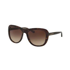 Coach Brown Gradient Sunglasses - Coach - Sunglasses - Jomashop