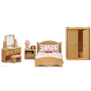 Calico Critters Parents Bedroom Play Set | zulily