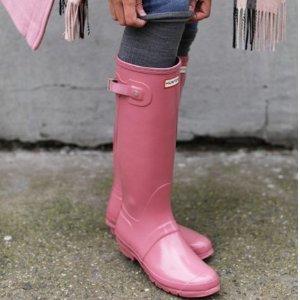 最高享7.5折Hunter 时尚雨靴热卖