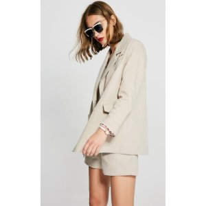 Day Blazer/Shorts Set