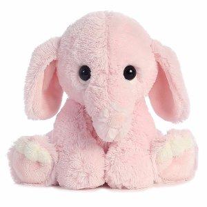 $9Aurora World Lil Benny Phant, Pink Plush