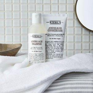 20% Off+3 Free Samples Amino Acid Shampoo @ Kiehl's