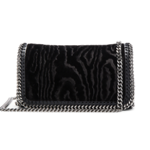 Stella McCartney Velvet Clutch Crossbody in