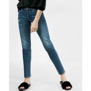 Mid Rise Original Vintage Skinny Jeans | Express