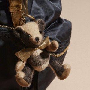 送$75 变相6.7折Burberry Thomas 小熊挂件 多色可选,超可爱