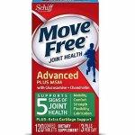 降价:Move Free 维骨力氨基葡萄糖软素120粒 两瓶包邮