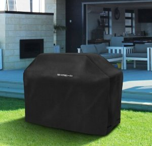 shine hai bbq grill cover 58inch waterproof 600d heavy duty gas grill cover