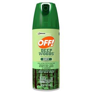 Off! Deep Woods Dry Aerosol, 4 Oz  by Off!