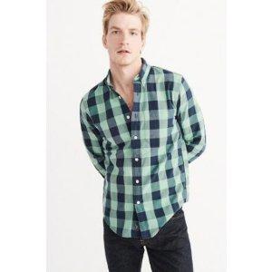 Mens Oxford Shirt | Mens New Arrivals | Abercrombie.com
