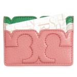 Tory Burch粉色卡包
