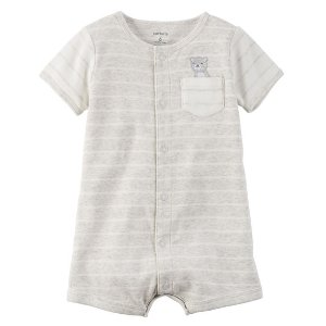 Baby Neutral Snap-Up Cotton Romper | Carters.com
