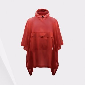 Hunter Red Vinyl Poncho | Official US Hunter Boots Store