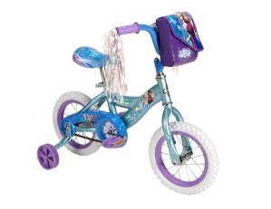 Huffy Bicycle Company - Disney Frozen Bike, Frosty Teal Blue, 12-Inch