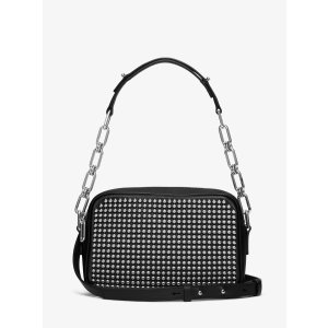 Julie Small Studded French Calf Camera Bag | Michael Kors