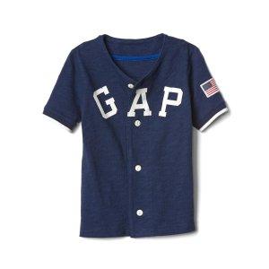 Americana logo slub jersey | Gap