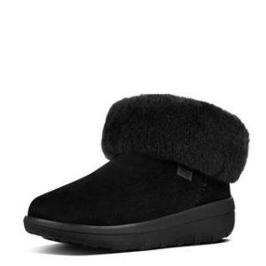 FitFlop Mukluk Shorty II Suede Boots Supernavy