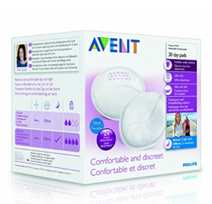 $6.39Philips AVENT SCF254/10 Day Disposable Breast Pads, White, 100-Count