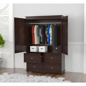 Inval Audio/ Video Armoire Cabinet - Free Shipping Today - Overstock.com - 17810474