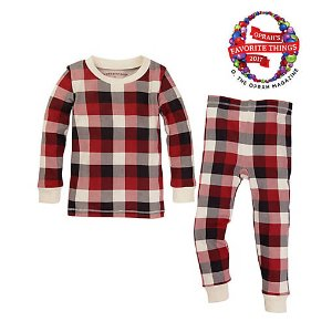 Baby Buffalo Plaid Organic Cotton Pajamas