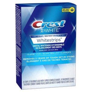 $17.99Crest 3D White Whitestrips 美白牙贴 10贴