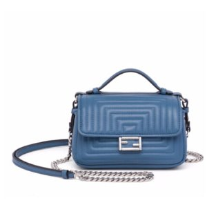 Fendi - Micro Double Baguette Quilted Leather Chain Shoulder Bag - saks.com