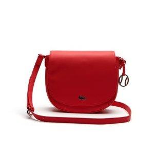 Women's Daily Classic Fine Piqué Grains Flap Crossover Bag | LACOSTE