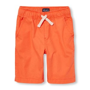 Boys Pull-On Woven Jogger Shorts   The Children's Place