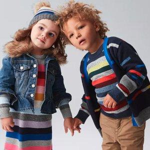 Extra 50% Off + Extra 10% Off + Gap CashBaby and Kid's Black Friday @ Gap