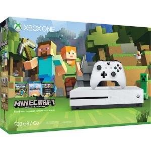 Xbox One S 500GB Minecraft + The Crew