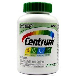 Centrum Adults Multivitamin - 300 Tablets - eVitamins.com