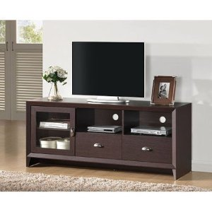 Techni Mobili Daytona Wengue TV Stand for TVs up to 65