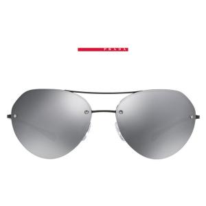 Prada Linea Rossa PS 57RS 59, Blk, Gry Mir Sunglasses