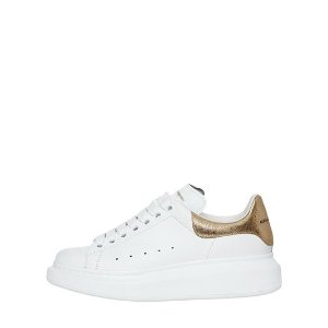 ALEXANDER MCQUEEN - 40MM LEATHER & METALLIC LEATHER SNEAKERS