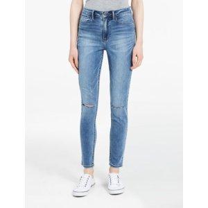 high waist deep blue leggings | Calvin Klein