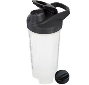 Contigo Shake and Go Fit Mixer Bottle, 28-Ounce, Carolina Blue