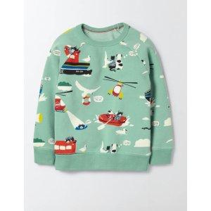 Fun Coastal Sweatshirt 23031 Sweatshirts at Boden