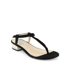Evie T-Strap Thong Sandals