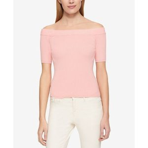 Tommy Hilfiger Off-The-Shoulder Sweater, Only at Macy's - Sweaters - Women - Macy's