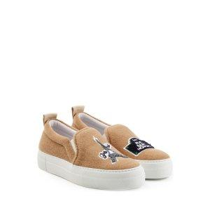 Felted Wool Slip-On Sneakers - Joshua Sanders
