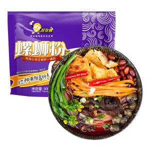 HAOHUANLUO Instant Spicy Rice Noodle 300g (Best Before: 07/19/2017)