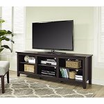 WE Furniture 70寸木纹现代电视柜