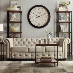 HomeVance Vanderbilt Tufted Sofa